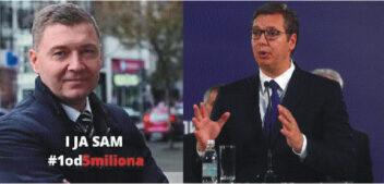 Zelenović: Vučić se krije od Saveta Evrope